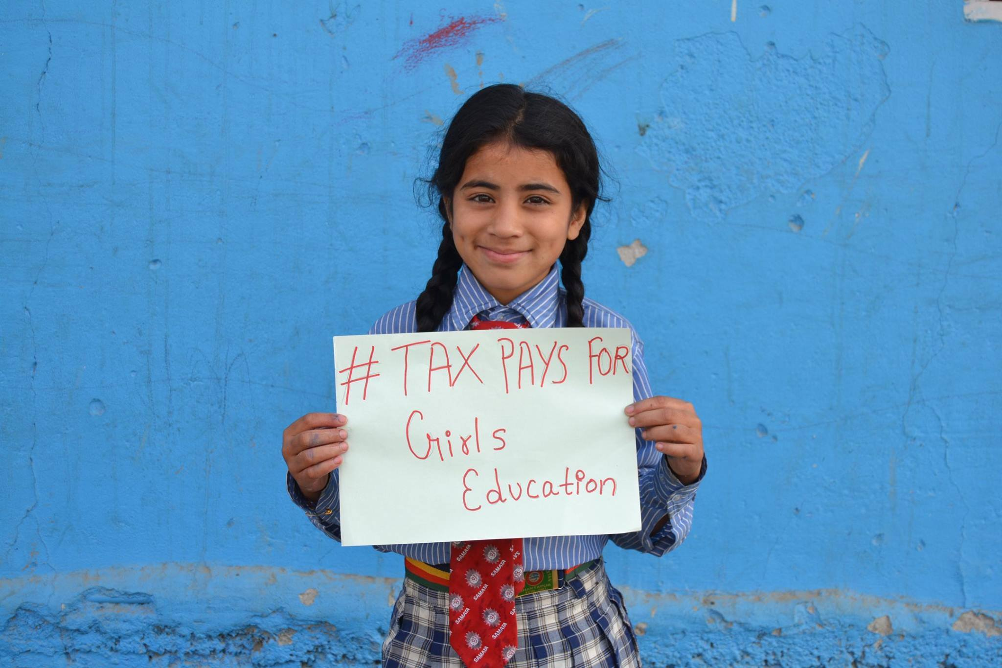 Tax pays for Girls Education