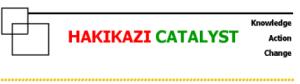 Hakikazi Catalyst partnersorganisatie van ActionAid in Tanzania