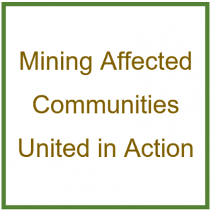 Mining Affected Communities United in Action