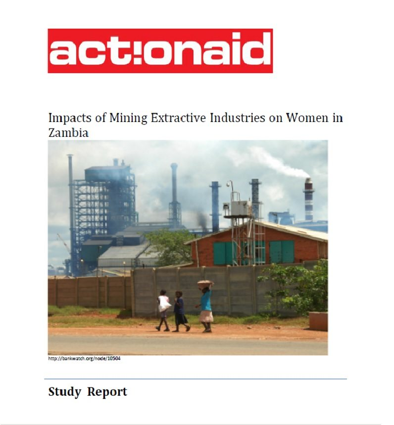 Impacts of Mining Extractive Industries on Women in Zambia