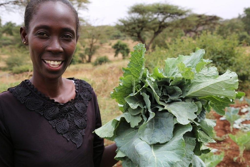 ActionAid leert boerinnen om droogte het hoofd te bieden in Farm Field Schools