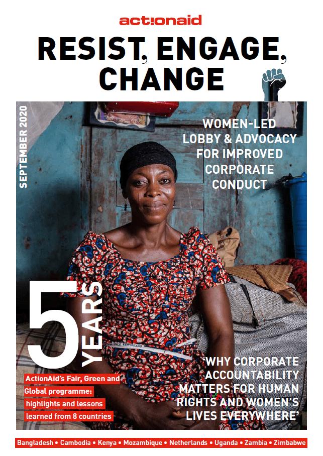 Het rapport Resist, Engage, Change van ActionAid