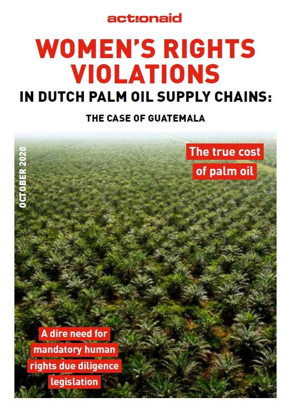 Women's rights violations in Dutch palm oil supply chains: The case of Guatemala
